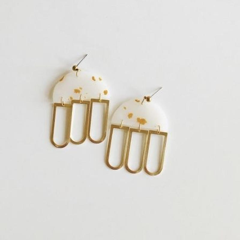 Golden Lux Earrings