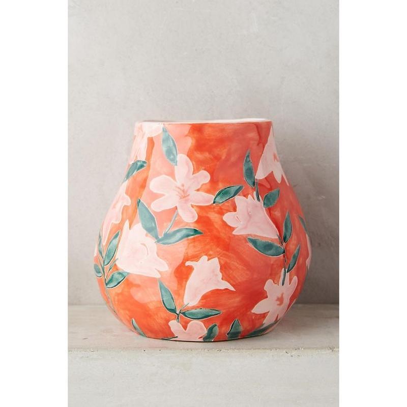 Flower  vase  pink