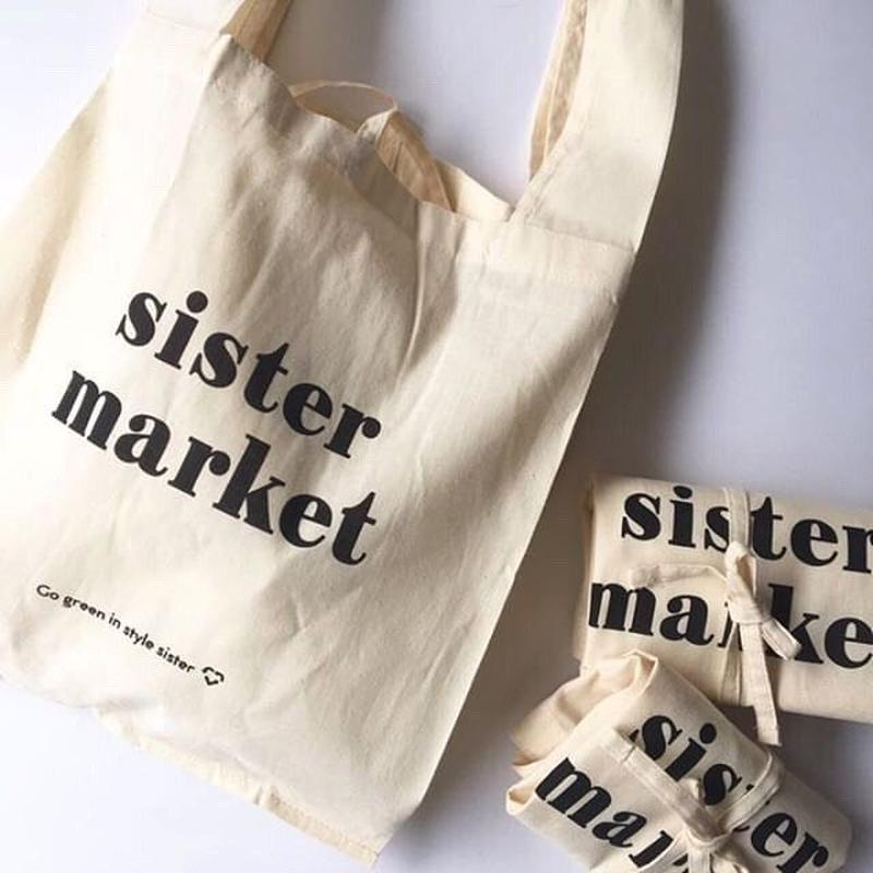 SISTER MARKET eco bag