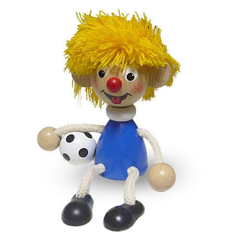 チェコおすわり人形 サッカー選手 ABAfactory