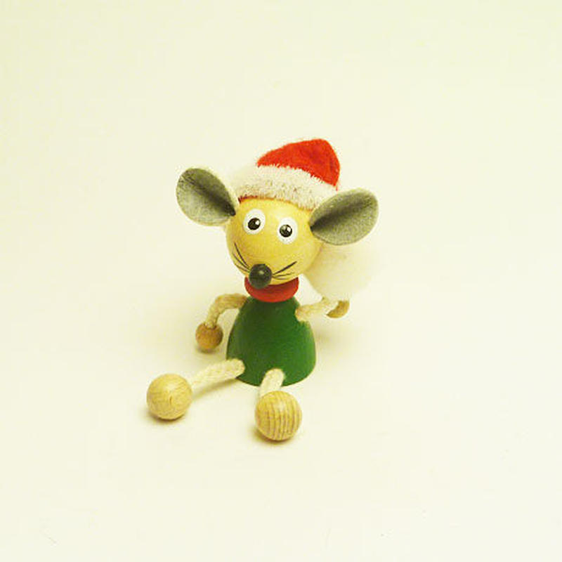 ミニ人形マグネット クリスマスマウス