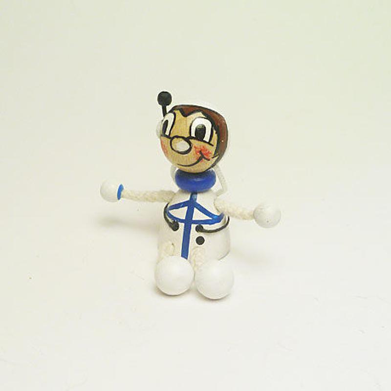 ミニ人形マグネット 宇宙飛行士