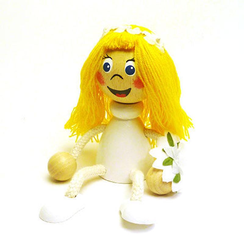 チェコのおすわり人形 花嫁 ABAfactory