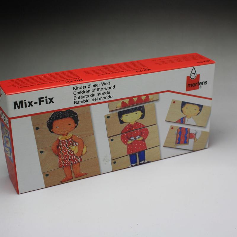 木製パズル 世界の子供