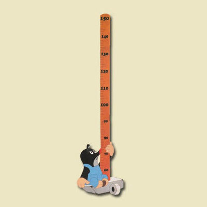 クルテクの壁付身長計 150cm計タイプ/モグラくんとハンマー