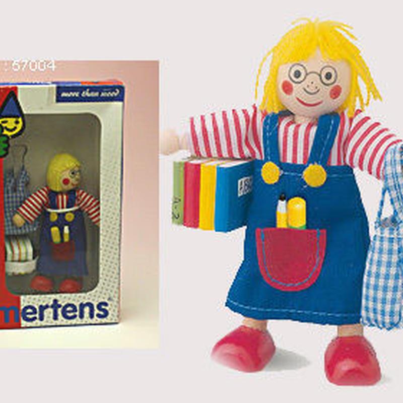 ドールハウス人形 メガネの女の子