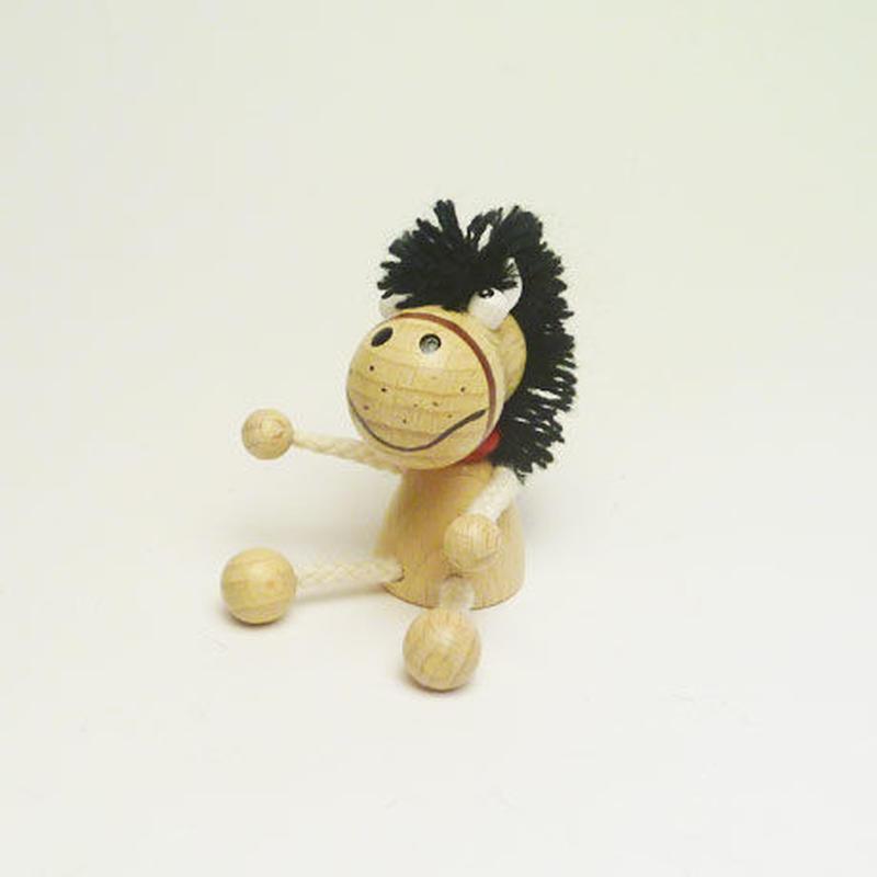 ミニ人形マグネット 馬