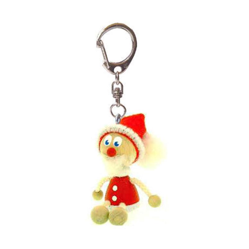 キーホルダー人形  サンタ クロース