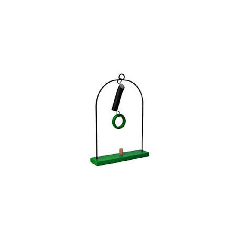 ABAfactoryの人形専用 1体用ブランコ【グリーン】