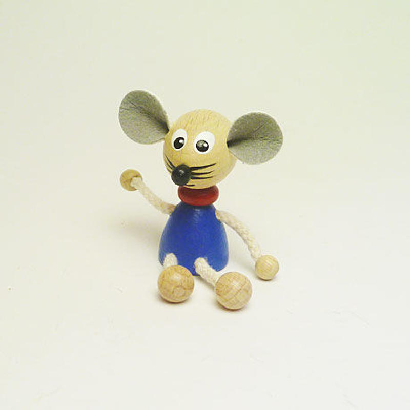 ミニ人形マグネット ネズミ
