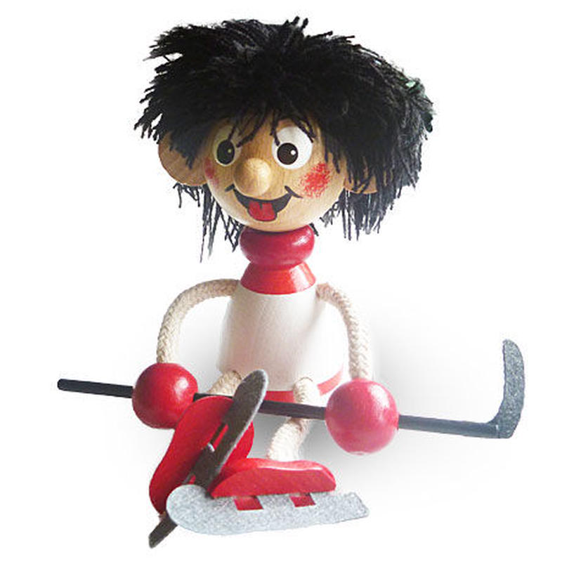 チェコおすわり人形 ホッケー選手 ABAfactory