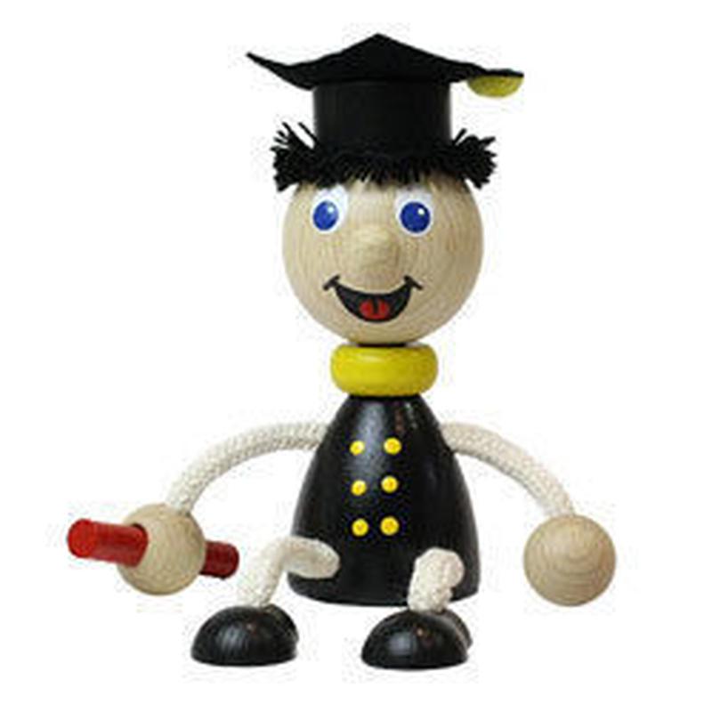 チェコおすわり人形 学生 ABAfactory