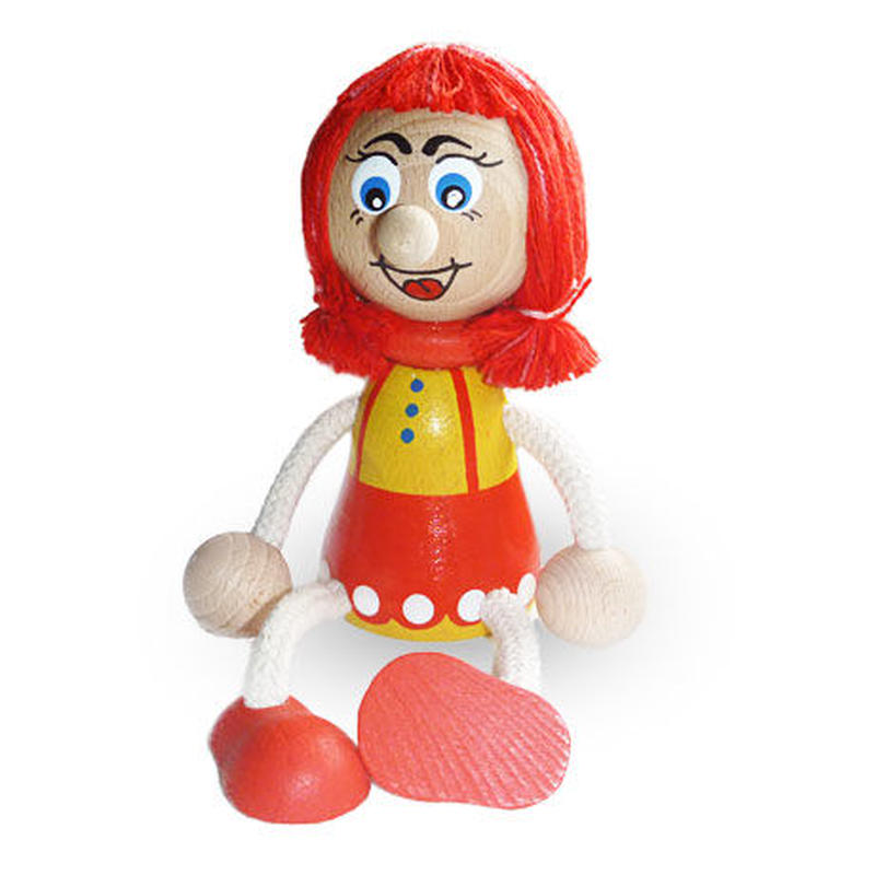 チェコおすわり人形ガールA LUMAZ +ブランコ