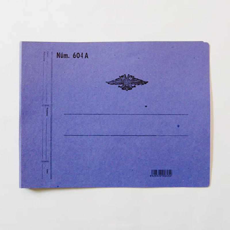 CATALA 2穴ファイル(A4サイズ・ブルー)