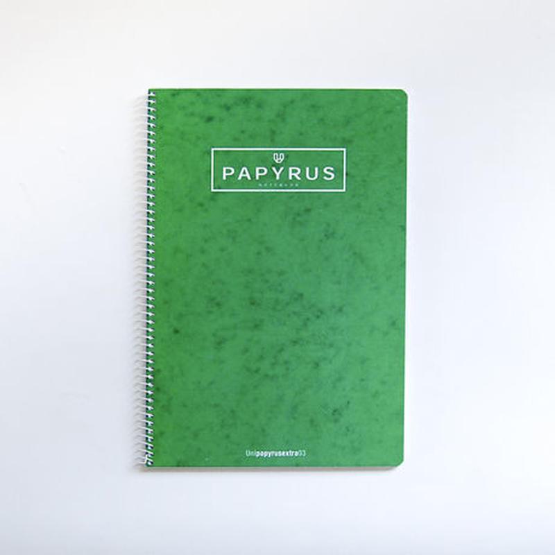 PAPYRUS A4ノートブック(グリーン)