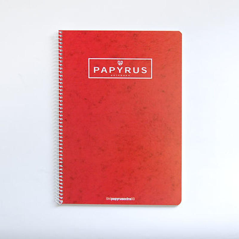 PAPYRUS A4ノートブック(レッド)