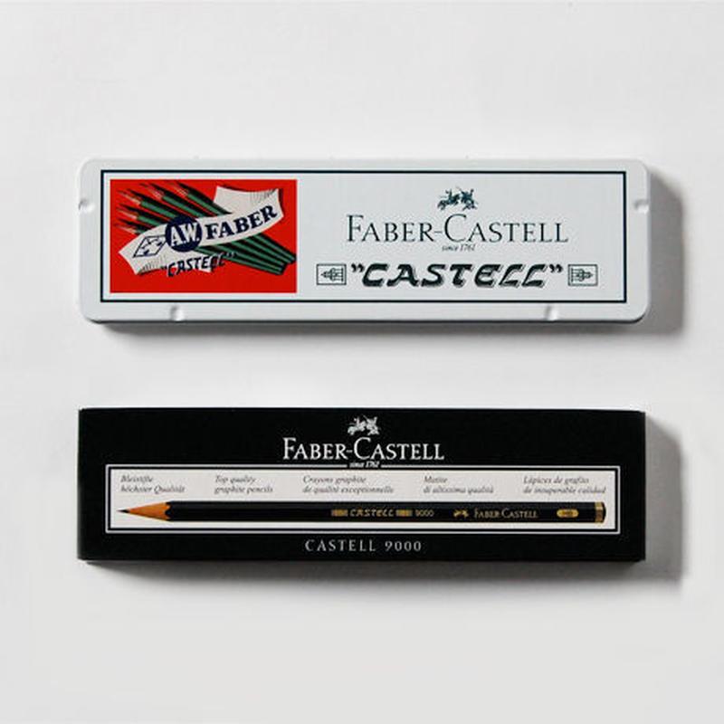 FABER-CASTELL 9000番 ヴィンテージデザイン缶