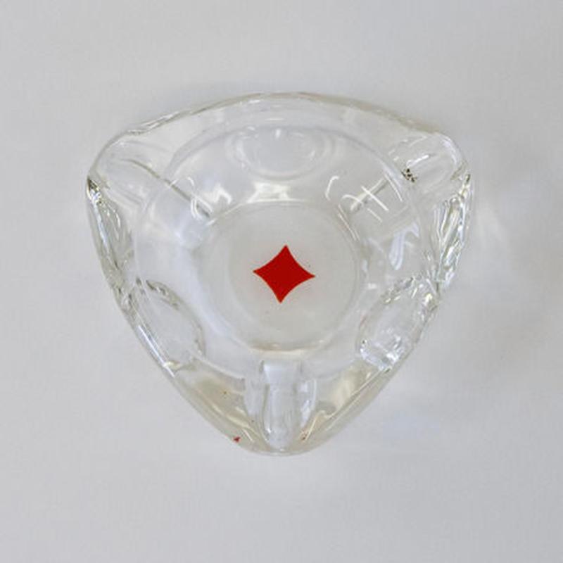 トランプ柄ヴィンテージアシュトレイ(ダイヤ)