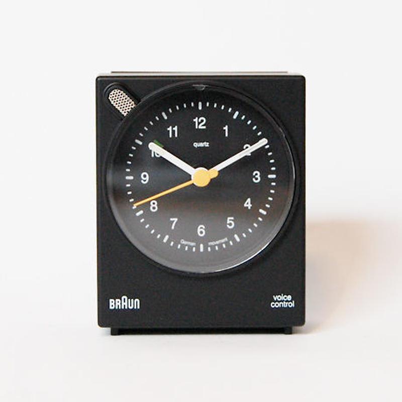 BRAUN アラームクロック ボイスコントロール BNC004(ブラック)
