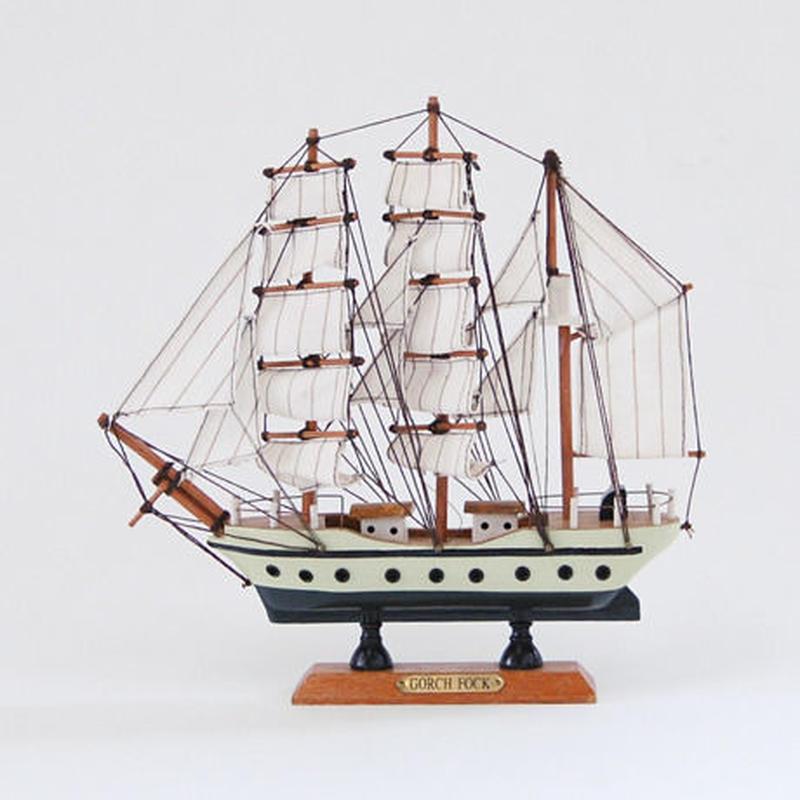 ヴィンテージ 帆船模型(GORCH FOCK)