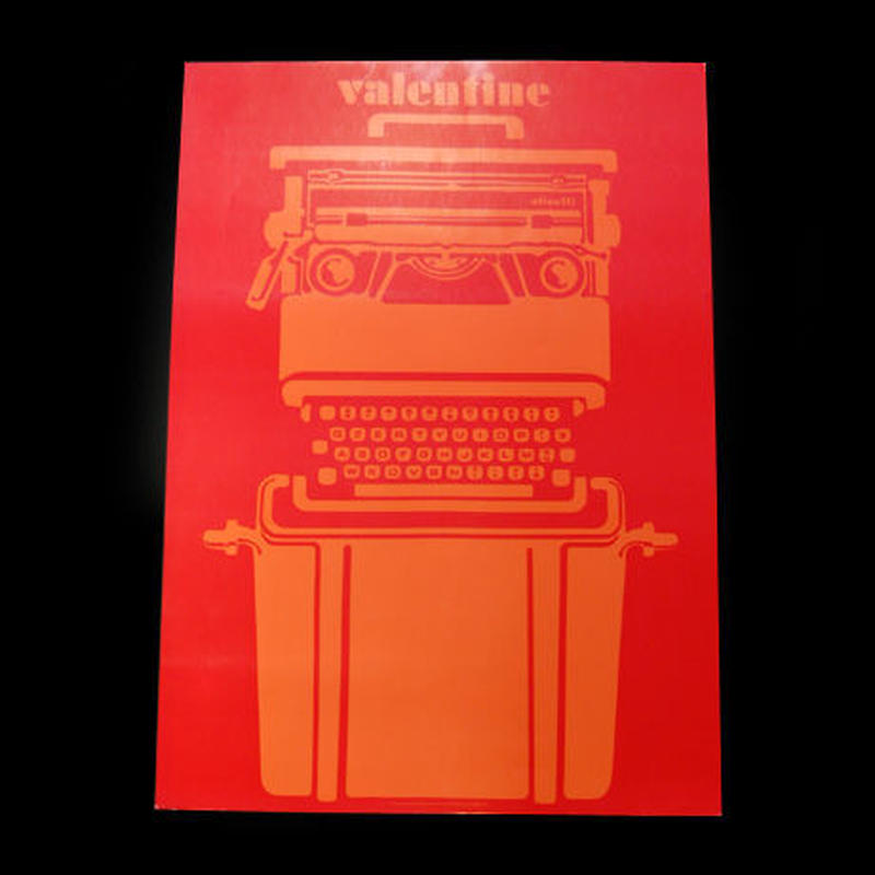 Olivetti ポスター(ネオンカラー)