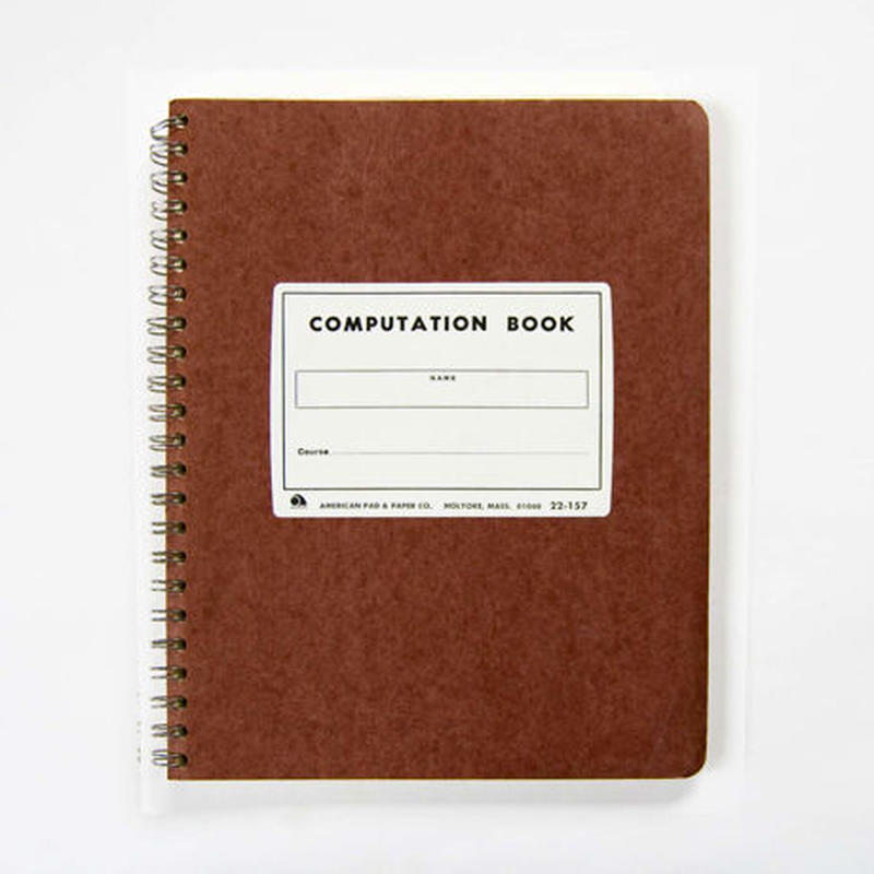 AMPAD COMPUTATION BOOK