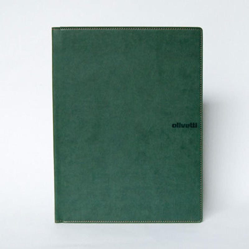 Olivetti パッドホルダーA4 (グリーン)