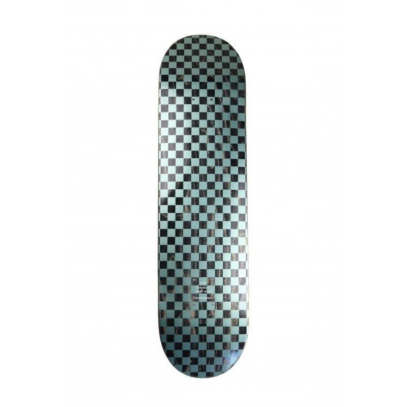COLOR SKATEBOARD Checkered ICE