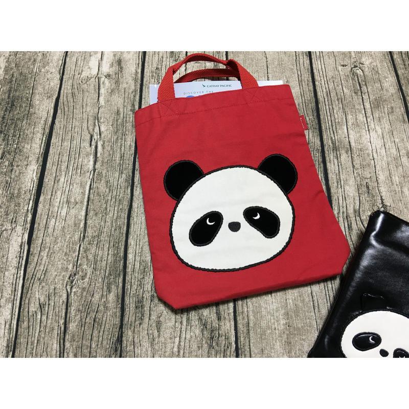 【香港☆リオパンダ】ランチトート / キュートな4色
