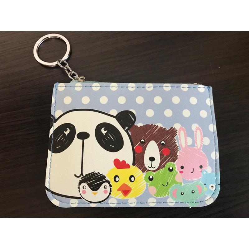 【香港☆Panda】かわいいパンダのパスケース /  ☆New Design☆パンダとお友達
