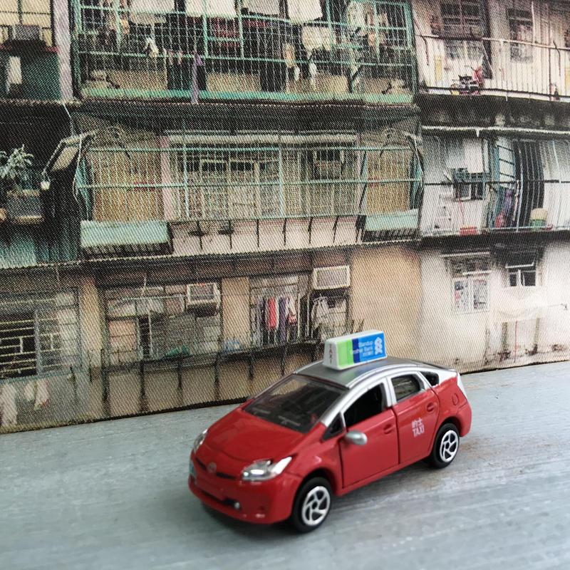 【香港☆Town Taxi】ミニカー /  Toyota Prius Town Taxi