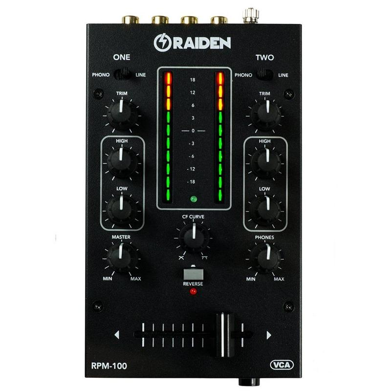 RAIDEN - RPM-100 / PORTABLE MIXER