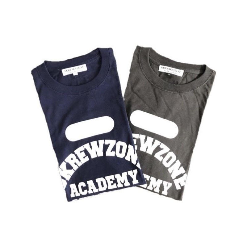 【SKREWZONE】COLLEGE LOGO LONG TEE