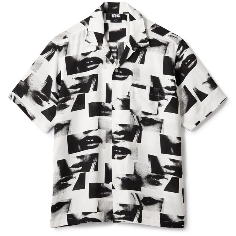 【FTC】LIPS RAYON SHIRT