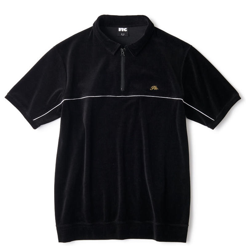 【FTC】PIPING VELOUR POLO