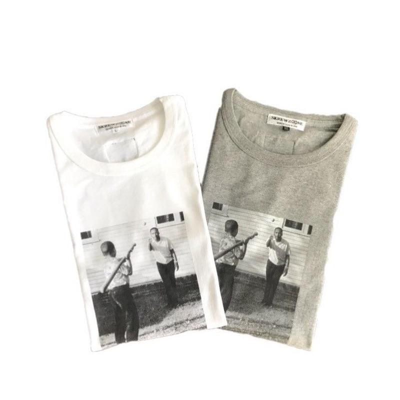 【SKREWZONE】OLD BASEBALL QUARTER SLEEVE(七分丈)