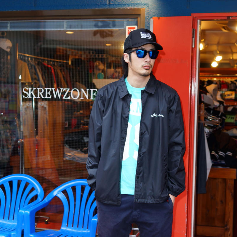 【SKREWZONE】CHROME COACH JACKET