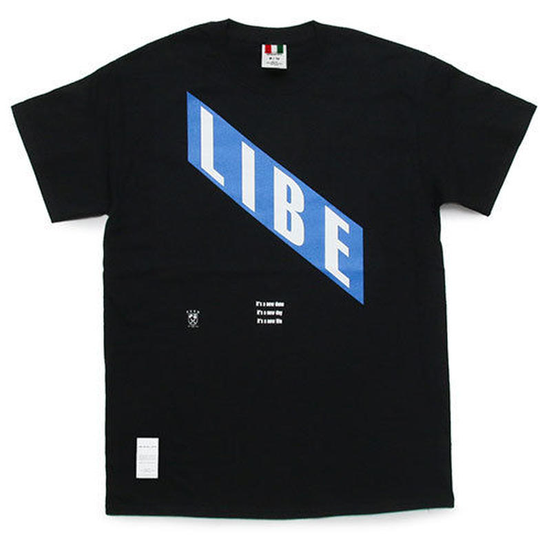 【LIBE BRAND UNIVS.】LIBE BLUE TEE