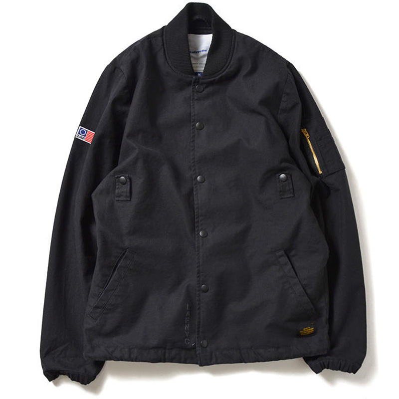 【LAFAYETTE】COTTON COACHES FLIGHT JACKET