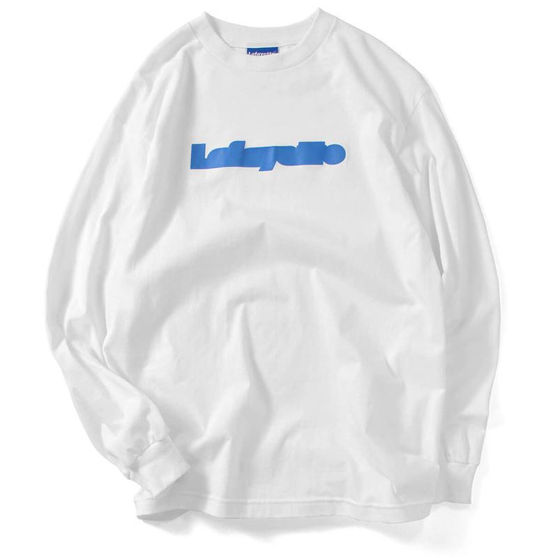 【LAFAYETTE】FILLED LOGO L/S TEE