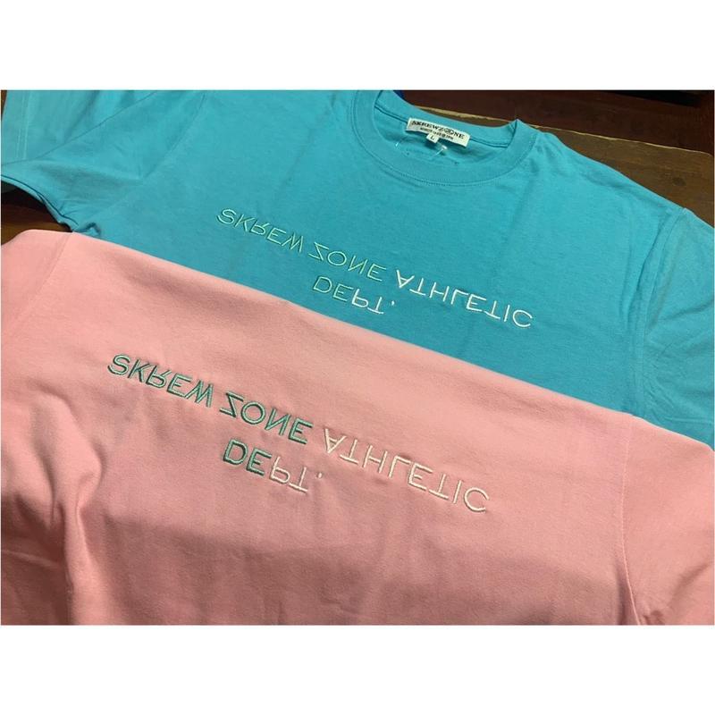 【SKREWZONE】2TONE DEPT TEE