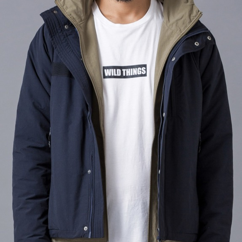 【WILD THINGS】HD NYLON MIG JACKET