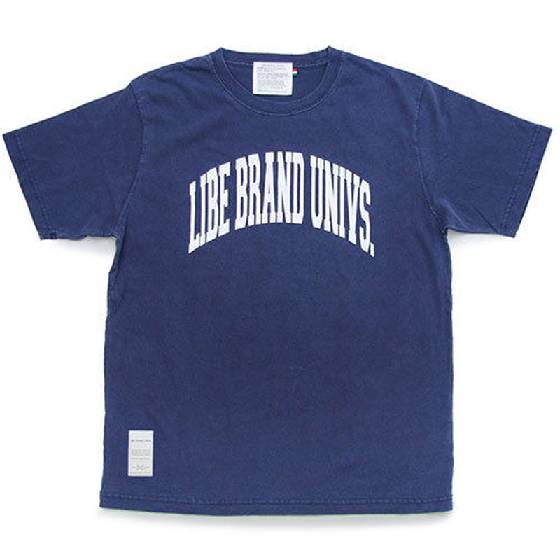 【LIBE BRAND UNIVS.】COLLEGE WASHED TEE