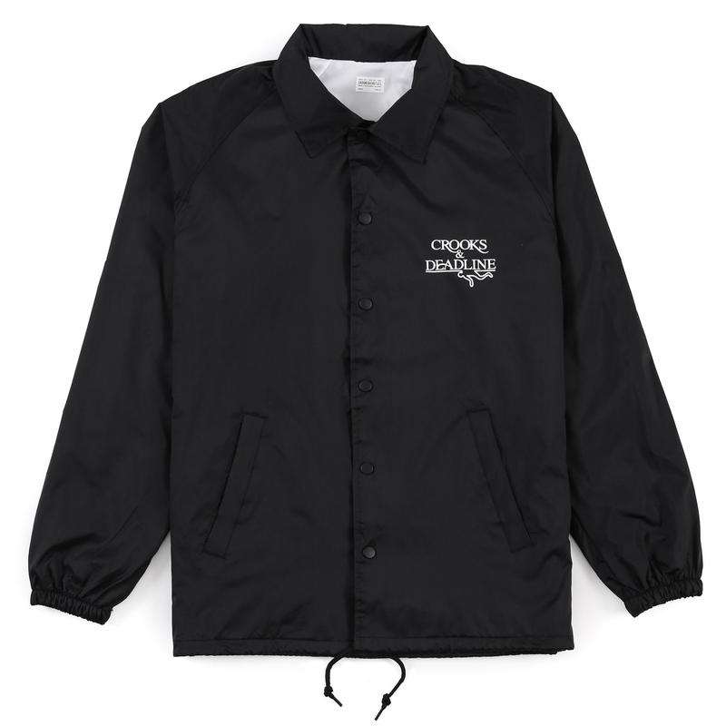 【LAFAYETTE】Crooks X Deadline Medusa Coach Jacket