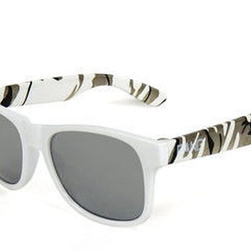 【DANG SHADES】LOCO White Gloss / Gray Camo X Chrome
