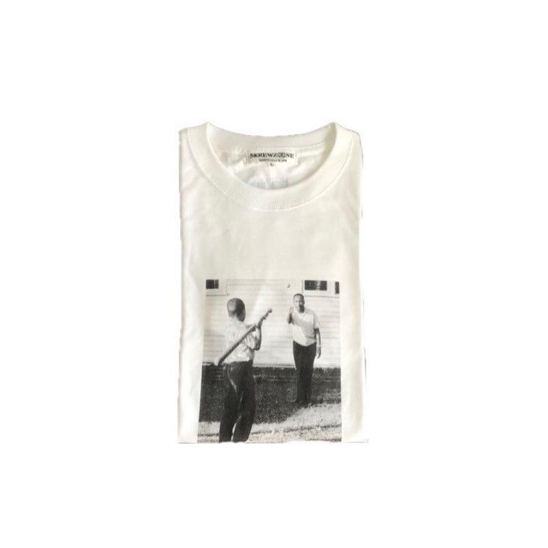 【SKREWZONE】OLD BASEBALL LONG TEE