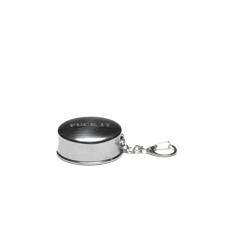 【HUF】FUCK IT SHOT GLASS KEYCHAIN