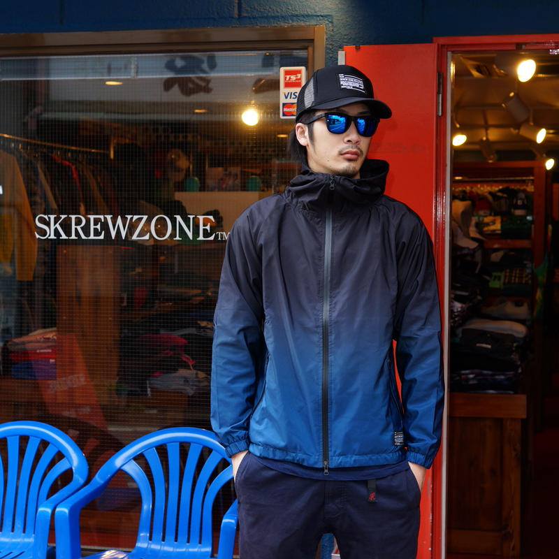 【SKRERWZONE】GRADATION MOUNTAIN JACKET