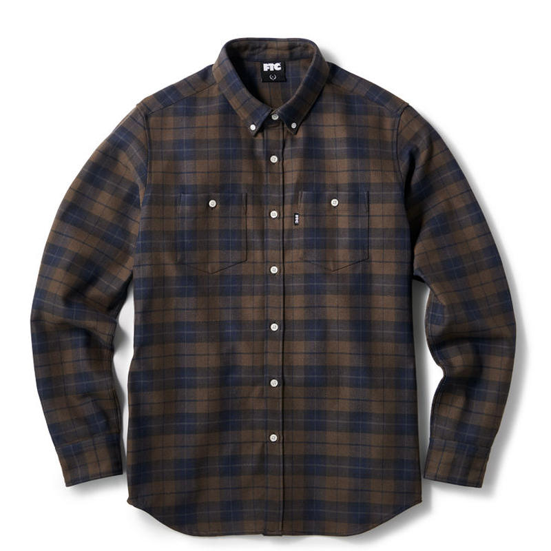 【FTC】HEAVY PLAID NEL B.D SHIRT