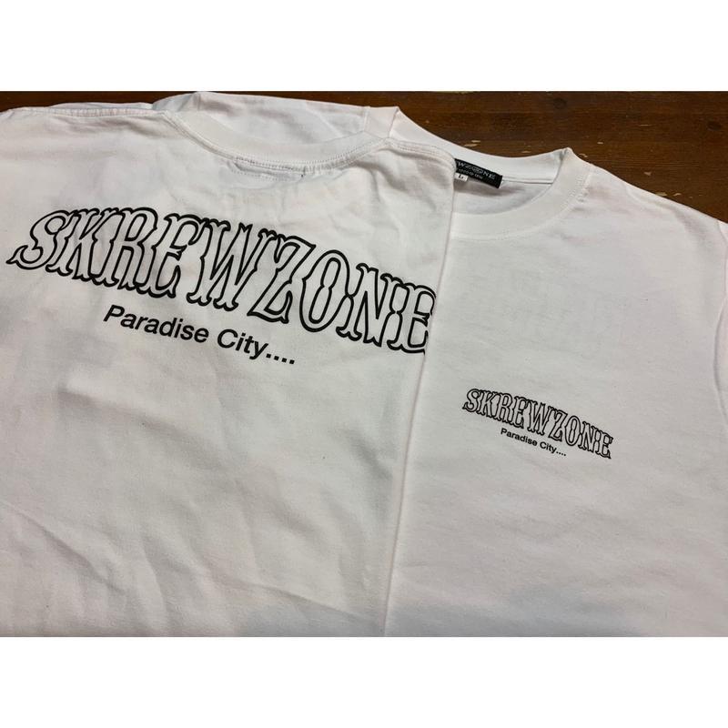 【SKREWZONE】PARADISE CITY  TEE